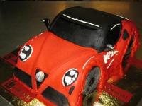tort samochód Alfa Romeo
