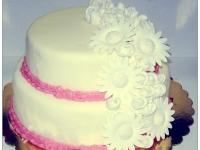 tort, torty, torty dla dorosłych, tort na wesele, tort na ślub, tort ozdobny, tort z różami, tort warszawa
