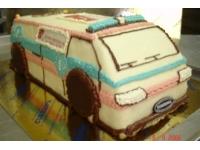 tort samochód karetka