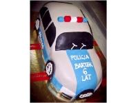 tort samochód policja