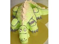 tort krokodyl