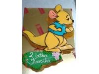tort kubuś puchatek maleństwo