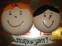 tort Bolek i Lolek,Tosia od 3 kg