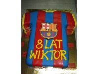 tort koszulka barcelony