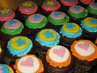 muffinki kolorowe