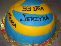 tort piłka siatkowa mikasa
