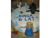 tort kraina lodu, frozen cake