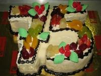 tort na 75 lecie