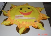 tort słońce