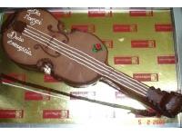 tort skrzypce