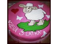 tort owieczka dolli