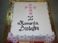 tort na I koomunie świętą,