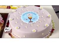 tort na I komunie święta