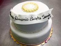 tort z okazji Komunii Świętej, od 3 kg 2 piętra