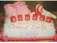 tort na chrzciny dla dziewczynki od 2,5 kg