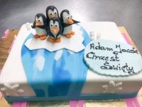 tort pingwin chrzest