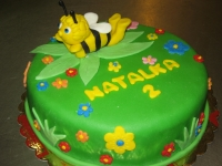tort dla dziewczynki pszczółka maja