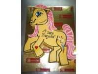 tort w kształcie kucyka pony