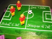 Tort piłkarzyki