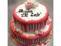 tort urodziny dziewczynki, od 3 kg