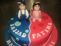 tort dla blizniaków od 2,5 kg