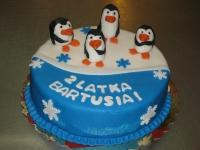 tort pingwiny , od 2,5 kg