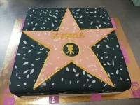 tort gwiazda filmowa