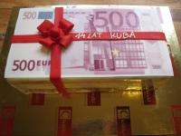 tort 500 euro urodzinowy