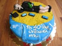 tort na 40-stkę