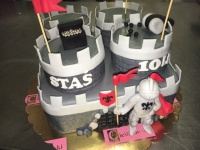 tort zamek od 3 kg