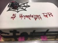 tort z pająkiem