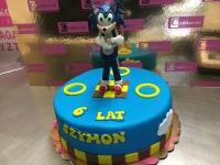 tort niebieski jez