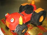tort bob budowniczy traktorek