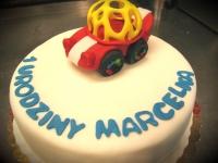 tort samochód, dla chłopca