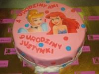 tort z królewną