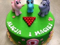 tort kucyki
