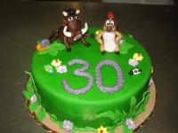 tort na 30 lat timon i pumba