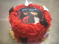 tort bajka czerwona