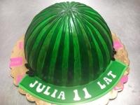 tort arbuz od 2,5 kg