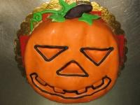 tort dynia halloween