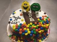 tort od 2,5 kg, M&M