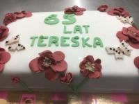 tort z kwiatkami 2,5 kg