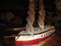 tort yacht,statek żaglowy minimum 2.50kg