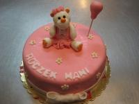 tort na roczek misio
