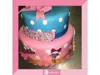 tort od 3 kg, dla dziewczynki