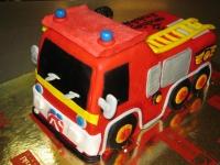 tort wóz strażacki strażaka Sama