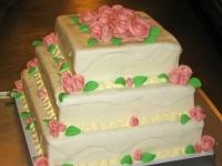 tort angielski weselny trzy piętra 12kg