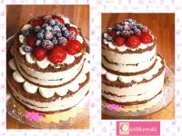 tort naked cake