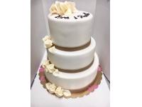 tort 3 pietrowy od 6 kg dla ok 60 gości
